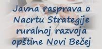 Javna rasprava o Nacrtu Strategije ruralnog razvoja
