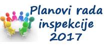 Planovi rada inspekcije 2017
