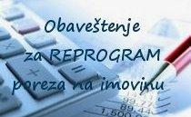 Reprogram poreza na imovinu